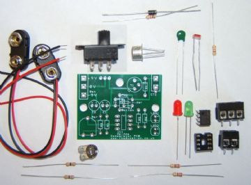 Op Amp Comparator Project Self Build Kit